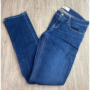 Hollister Blue Straight Jeans Size 5s W27 Blue